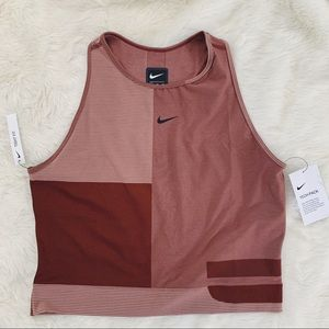 Nike Pro Hypercool Pueblo Brown Tech Knit Top
